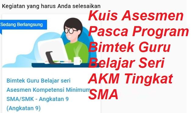 Kuis Pasca Program AKM