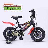 Sepeda Anak Family Nickelodeon Teenage Mutant Kura-Kura Ninja Turtles bmx kids bike