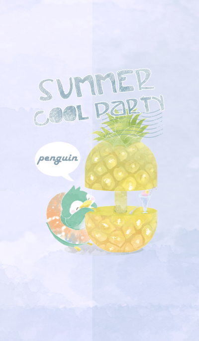 summer cool party(penguin mommy ver.)