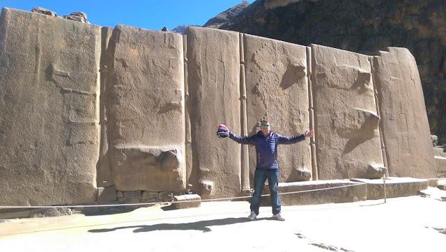 Ollantaytambo Templo del Sol, Templo del Sol Ollantaytambo