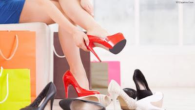 Zapatos Rojos de Mujer