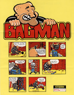 Bagman+arcade+game+portable+retro+art+flyer