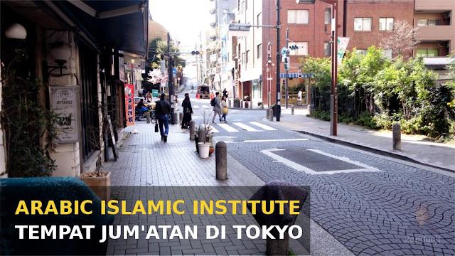 Jalan tempat jum'atan di Tokyo