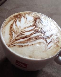 Latte Art 3D Pakis Kembar