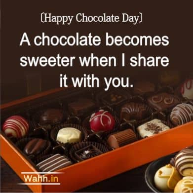 Chocolate Day Messages for Friend In Hindi