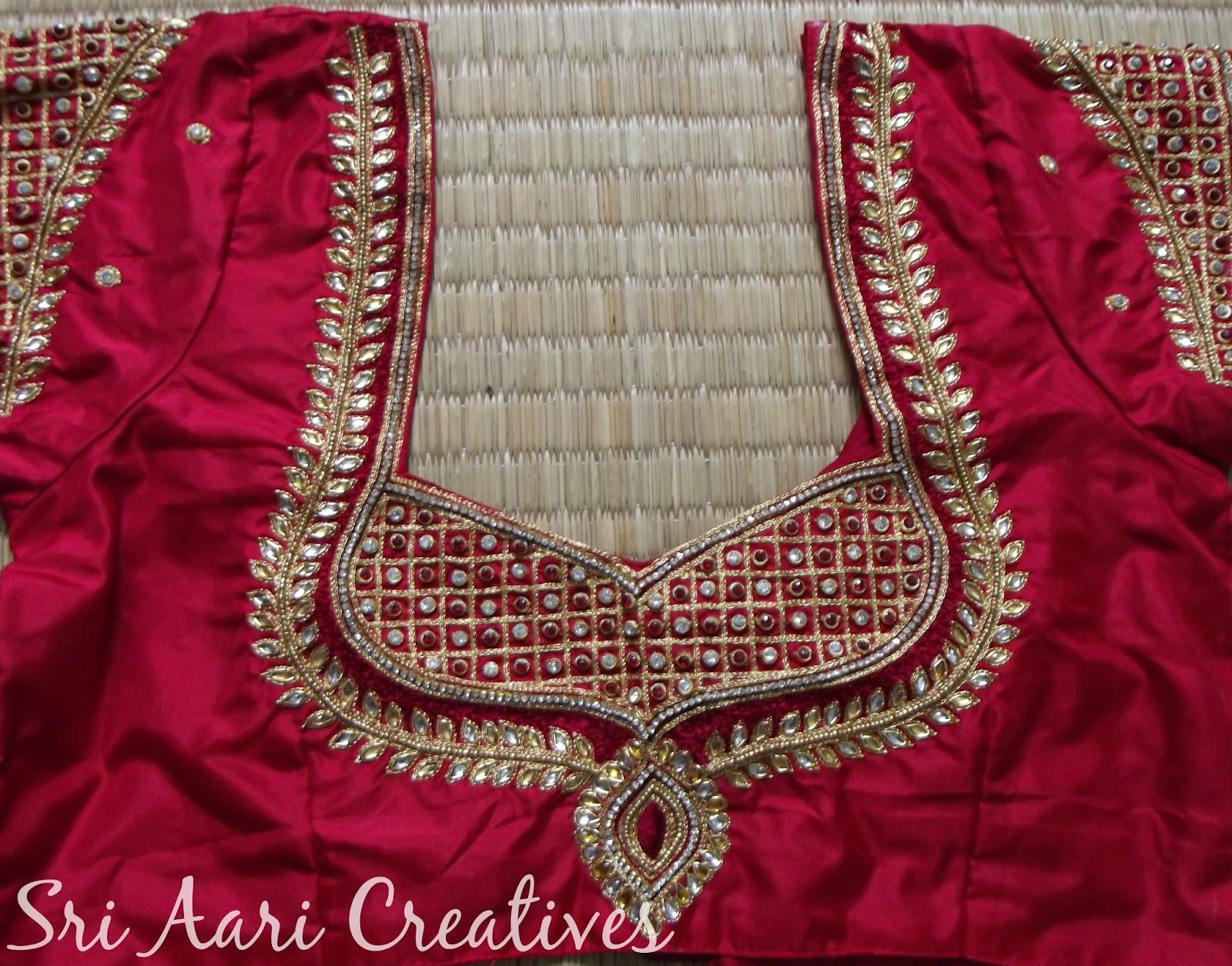 SRI AARI CREATIVES Best Bridal Blouse Designs In Chennai