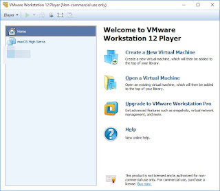 Programma VMware Workstation Player