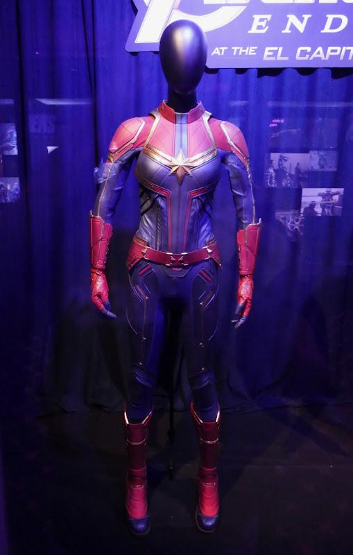 Brie Larson Captain Marvel costume Avengers Endgame