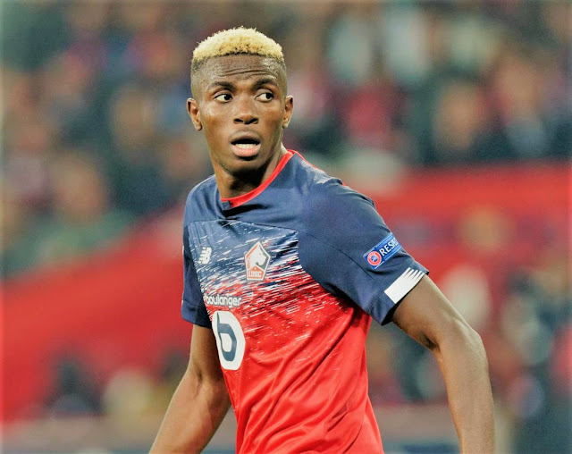 Ligue 1: Victor Osimhen In Premier League Big Clubs Radar