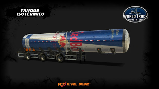 TANQUE ISOTÉRMICO - RED BULL