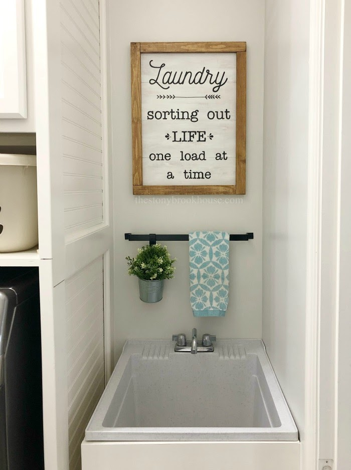 How To Build A Freestanding Farmhouse Laundry Tub