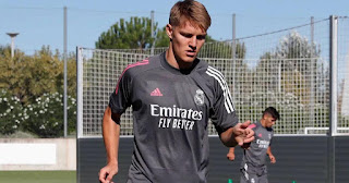 Real Madrid has officially assigned new shirt number to Odegaard ahead of La Liga season
