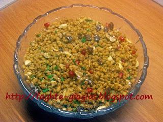 Κόλλυβα ή Σπερνά - από «Τα φαγητά της γιαγιάς»