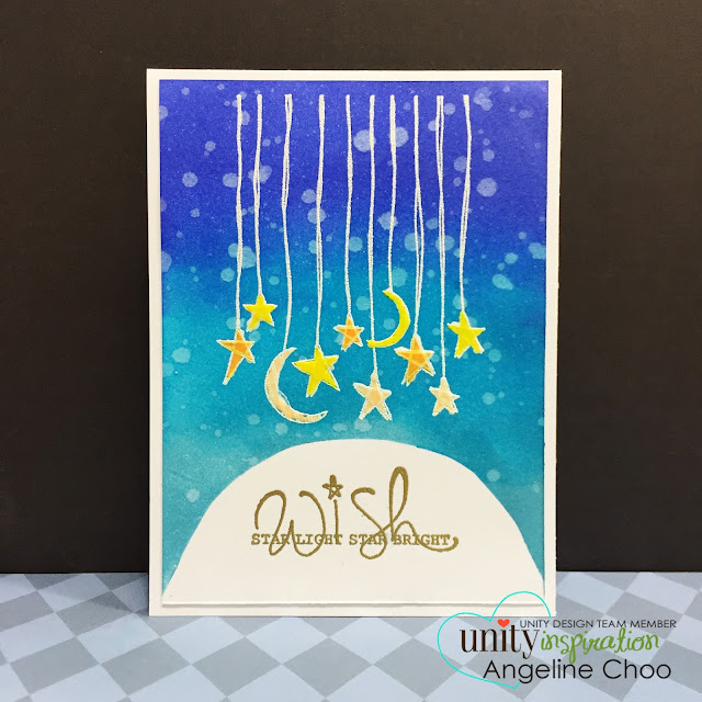 ScrappyScrappy: Old School is cool! Unity blog hop #scrappyscrappy #unitystampco #stamp #card #quicktip #youtube #video