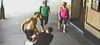 Σοκαριστική σκηνή: 38χρονος σκότωσε πατέρα 7 παιδιών με μια μπουνιά (vid)