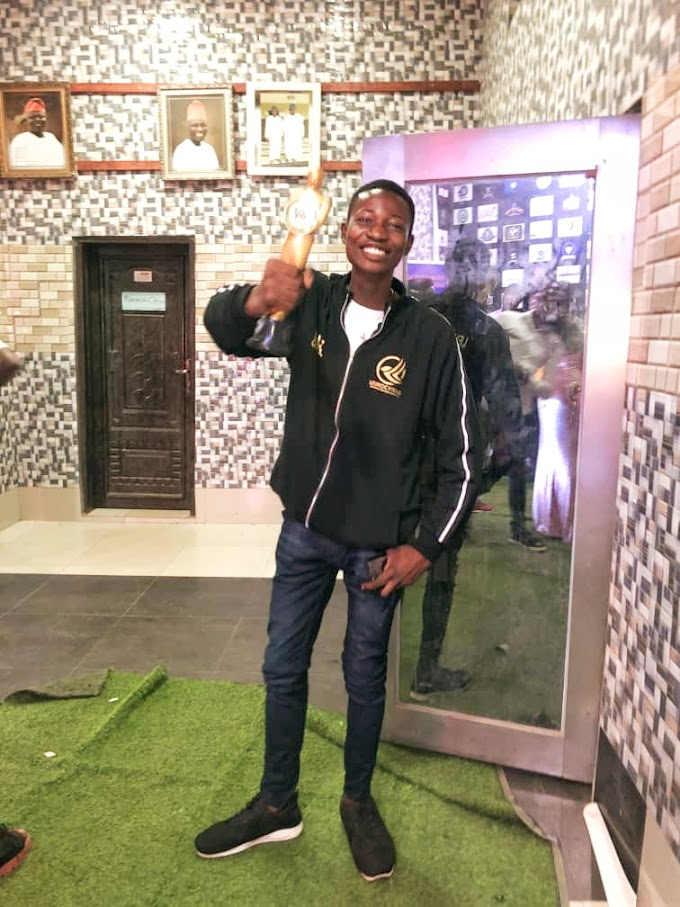 OOU SUG AWARDS 2021: LEUKOCYTENG EMARGE THE SOCIAL MEDIA INFLUENCER OF THE YEAR 2021