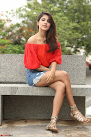 Rhea Chakraborty in Red Crop Top and Denim Shorts Spicy Pics ~  Exclusive 045.JPG