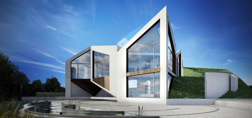 The D Haus Concept Modular Dynamic House Transformer