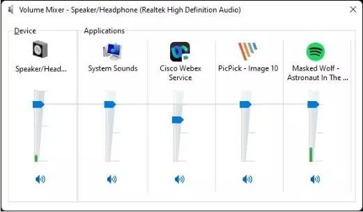 Cara Menggunakan Volume Mixer di Windows 11-6