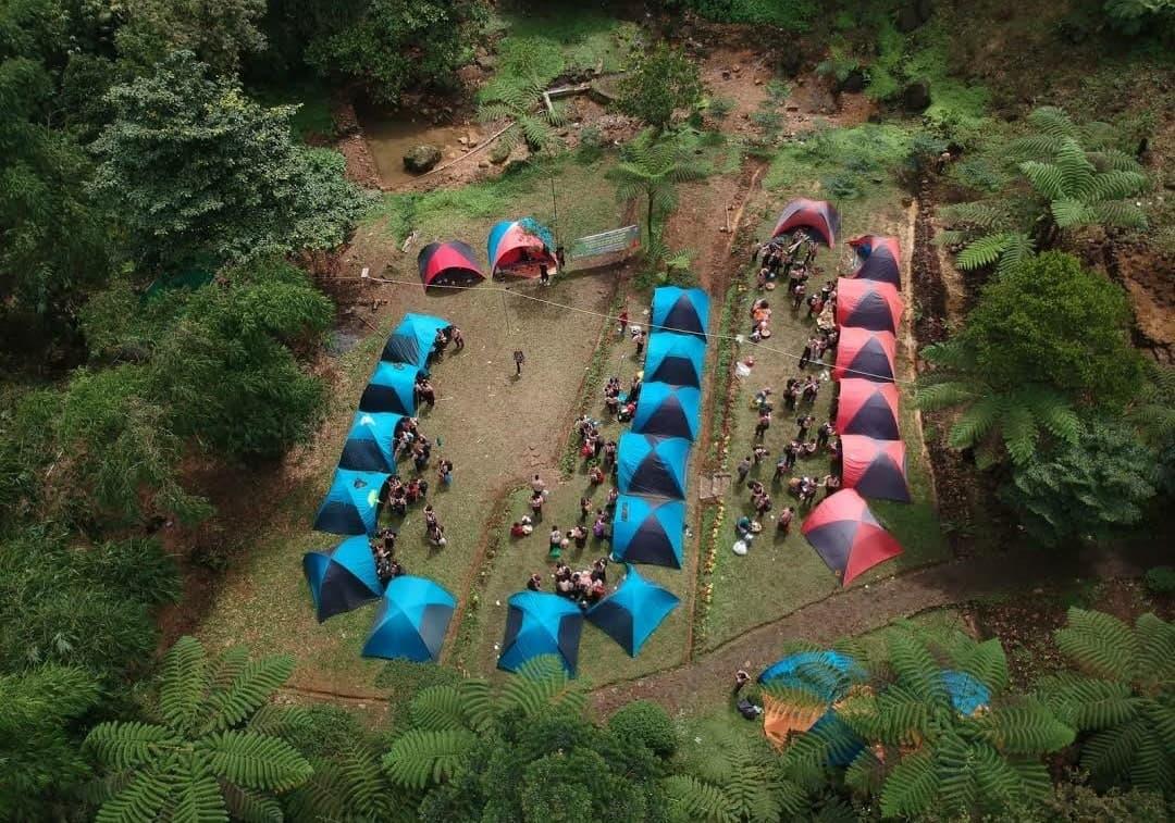 telaga batu camp ground