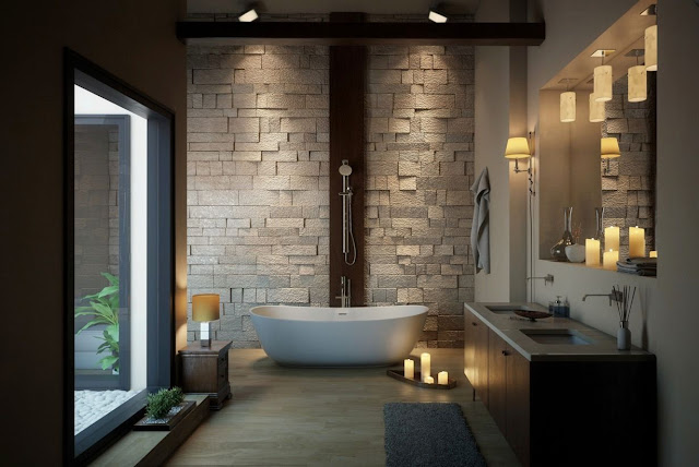 Tiles Design In Bathroom