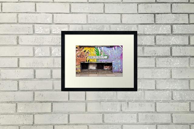 London Travel Art Print Horizontal Home Decor Wall Art