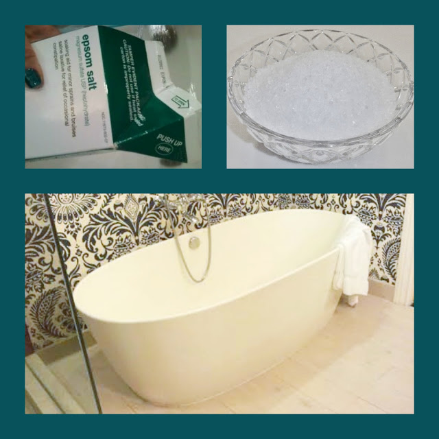 epsom salts bathtub