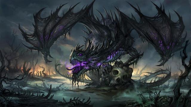 Black-Dragon-Ultra-HD-4K-Wallpaper