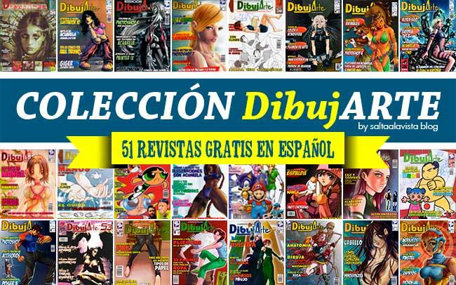 Descargar Colección DibujARTE - 51 Revistas de Dibujo Gratis en PDF by Saltaalavista Blog