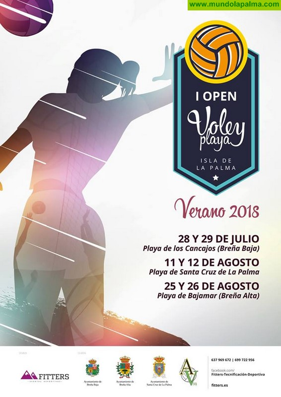 LOS CANCAJOS: I Open Voley Playa - Isla de La Palma