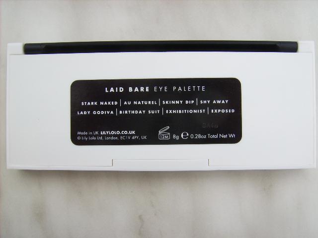 Rückseite Palette Lily Lolo
