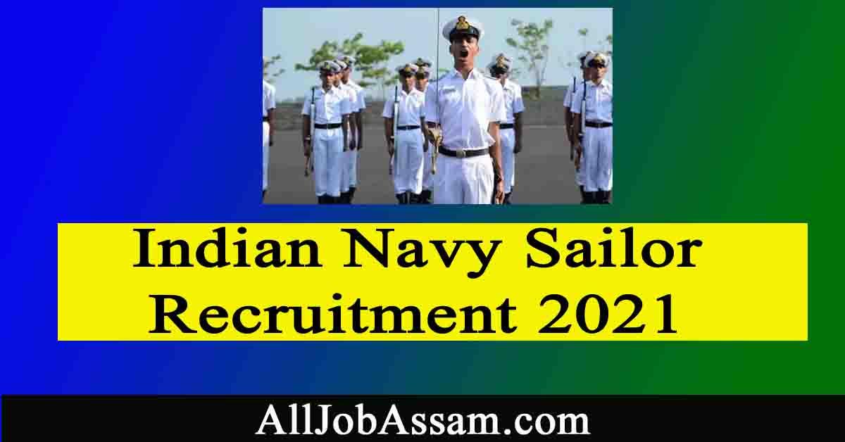 Indian Navy Sailor Recruitment 2021 – 350 Matric Recruit (MR) Vacancy