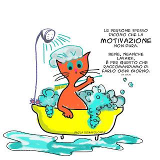 Le persone spesso dicono che la motivazione non dura.  Bene, neanche lavarsi, è per questo che raccomandiamo di farlo ogni giorno.  Zig Ziglar