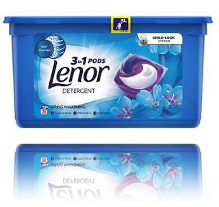Detergent capsule LENOR Color Allin1 Pods Spring opinii comentarii forumuri