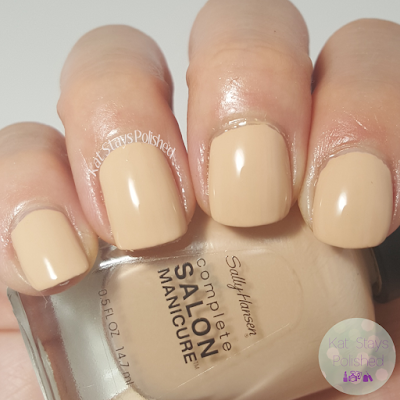 Sally Hansen Miracle Gel - Camelflage | Kat Stays Polished