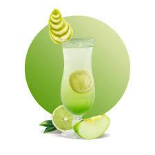 Para que sirve la manzana verde licuada con soda