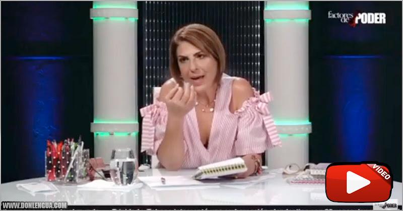 """Patricia """"Rojita"""" poleo critica a la esposa de Henry Ramos por regar las matas"""