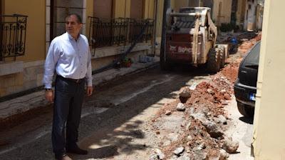 ΣΕ ΕΞΕΛΙΞΗ η αντικατάσταση του παλαιού δικτύου ύδρευσης στην Καλαμάτα
