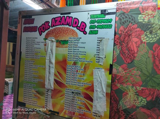 burger pak azam durian burung