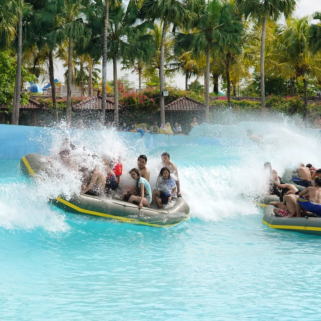 Lokasi Hawai Waterpark Malang