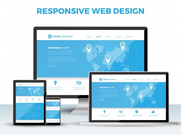 responsif website image by freepik