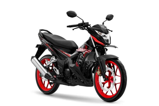 Warna New Honda Sonic 150R Aggresso Matte Black