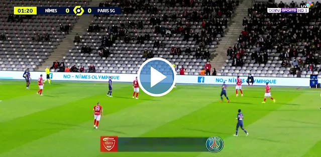 Nîmes Olympique vs PSG Live Score