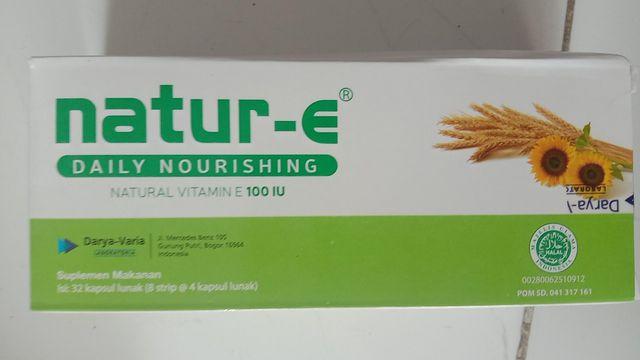 Manfaat Natur e 100 IU