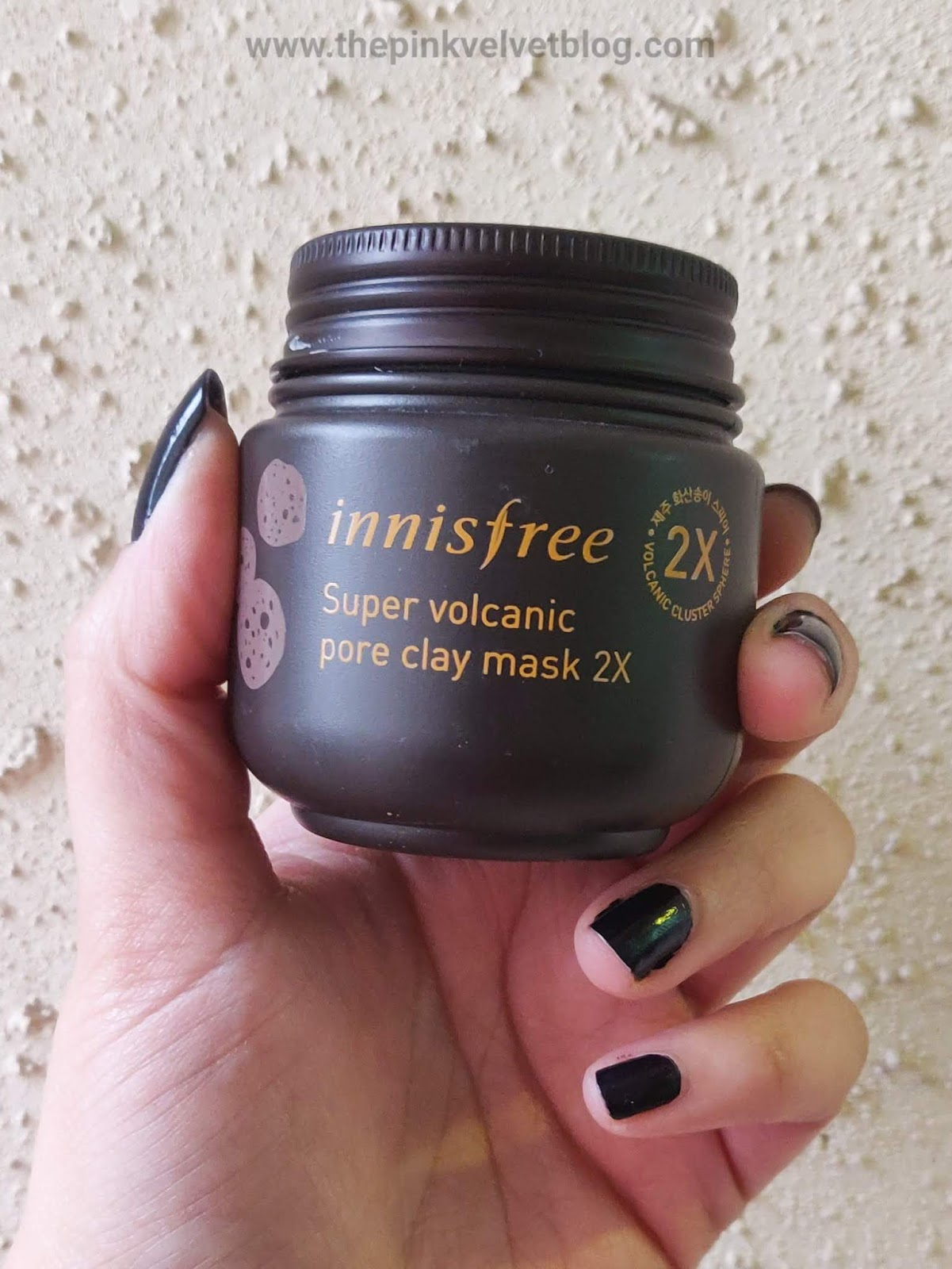 Innisfree Super Volcanic Pore Clay Mask 2X - Review