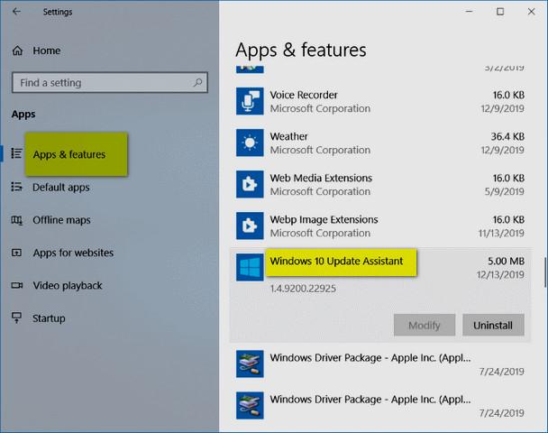 كيفية حذف ملف التحديثات Windows 10 Upgrade بأمان في ويندوز 10