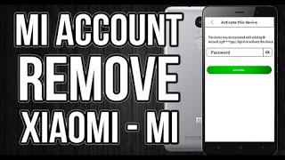 Remove the Mi account Xiaomi Mi 5S PLUS which we will explain using the flash