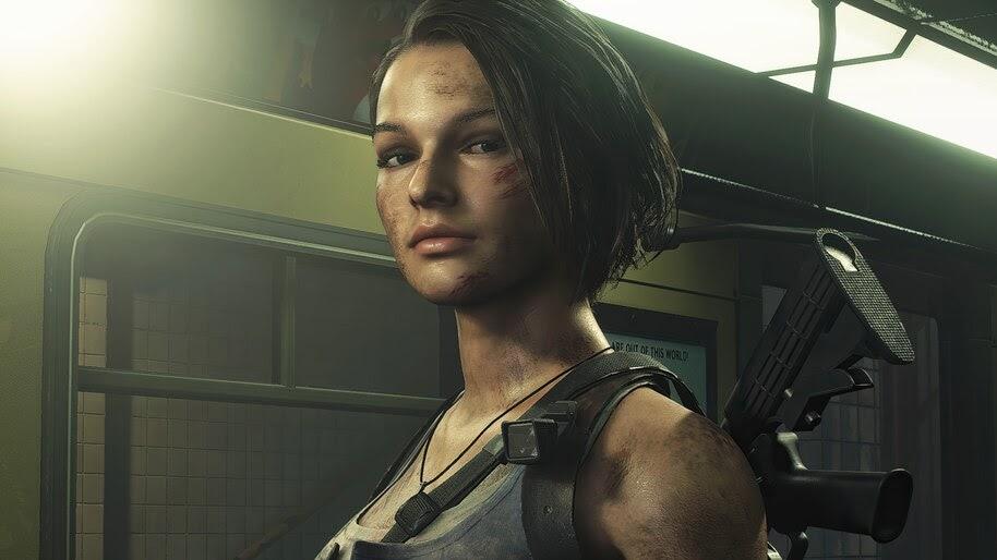 Jill Valentine Resident Evil 3 Remake 4k Wallpaper 7 1626