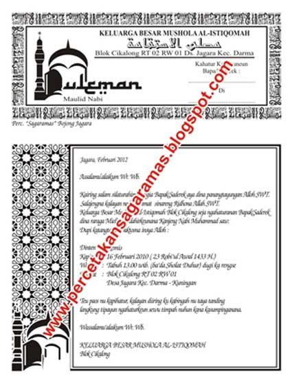 Teks Pidato Maulid Nabi Yang Lucu - Marhaban Ya Ramadhan