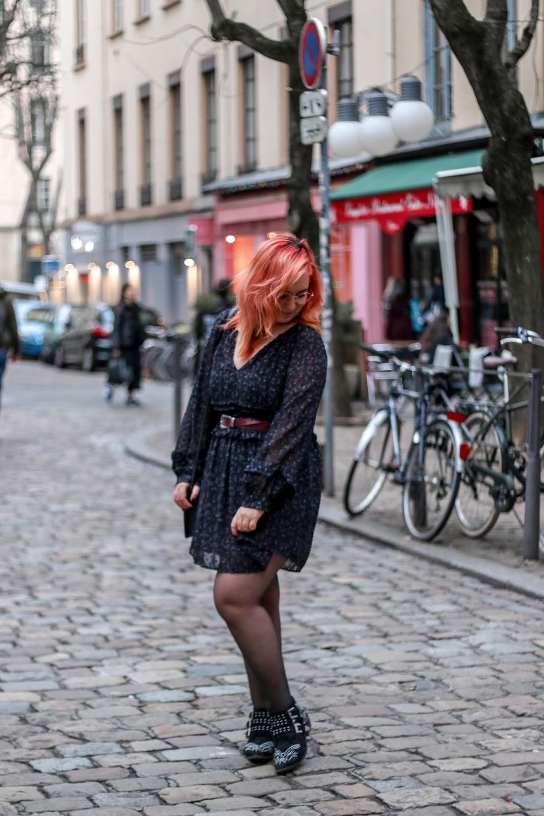 look hivernal robe légére zara blog mode lyon mllexceline